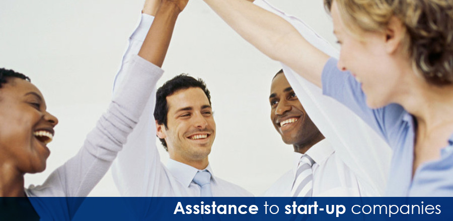 Assistance to start-up companies